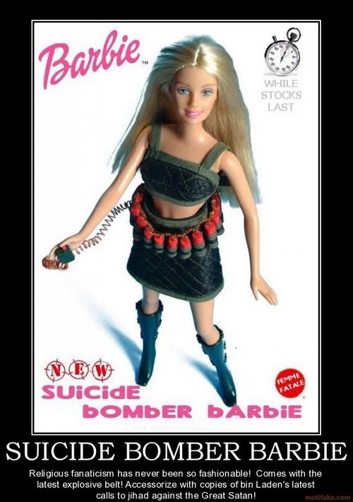 Suicide Bomber Barbie Boudica Bpi Weblog