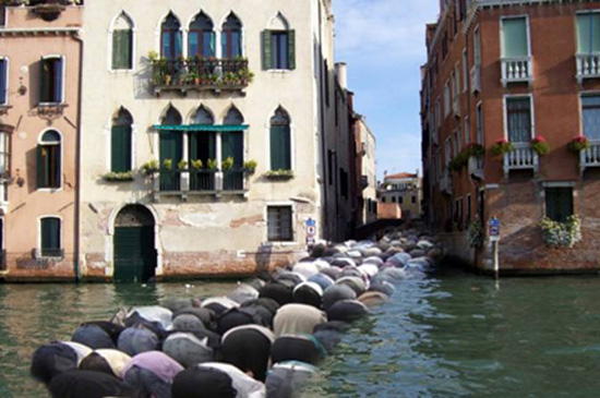 So far only 543 have drowned. Gotta love those Italians.