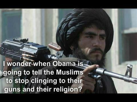 MuslimsClingToGunsAndReligion