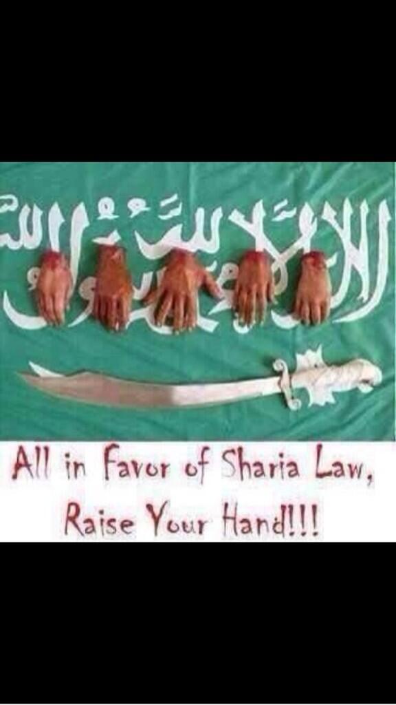 ShariaLawRaiseYourHand