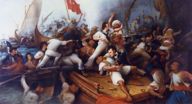 Decatur_Boarding_the_Tripolitan_Gunboat