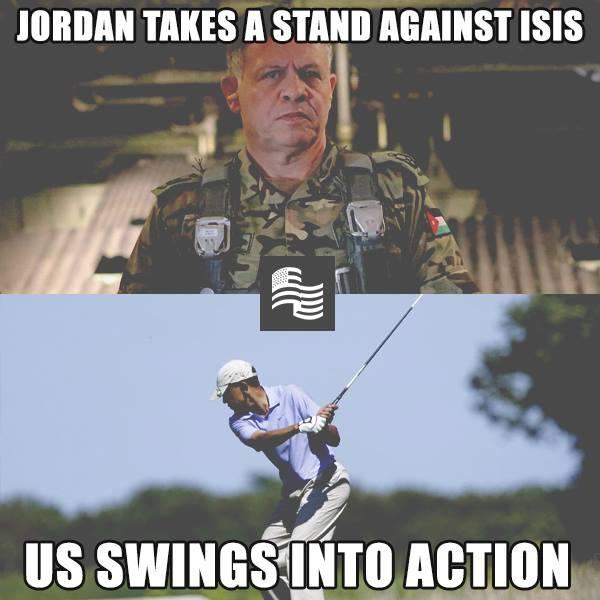 ObamaSwingsIntoAction