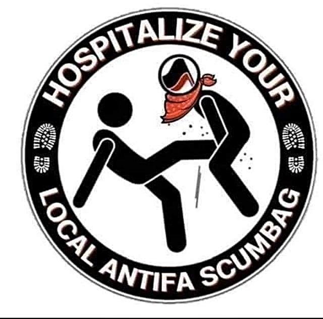 Hospitalize Antifa Scum