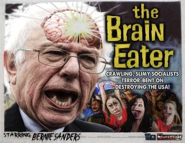 Bernie Sanders Brain Eater